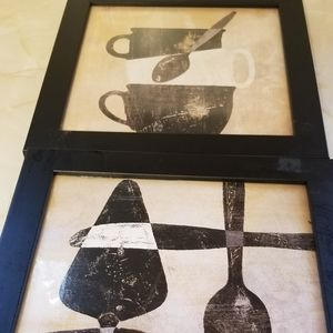 SET OF 9.5 SQ KITCHEN PICTURES